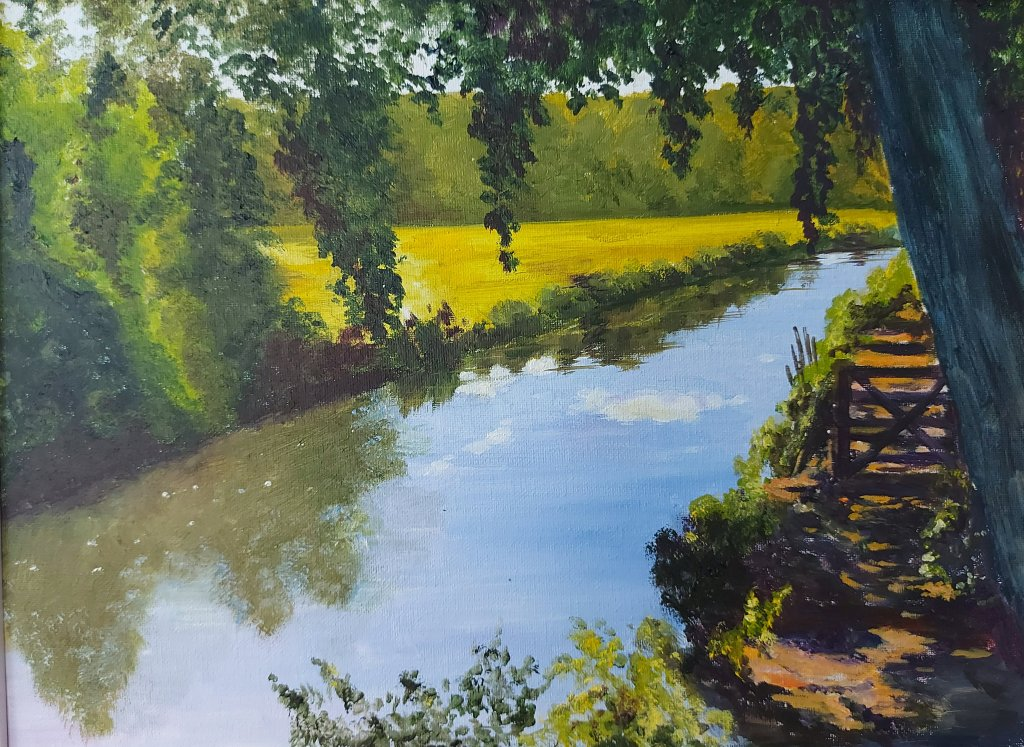 River Wey in Godalming